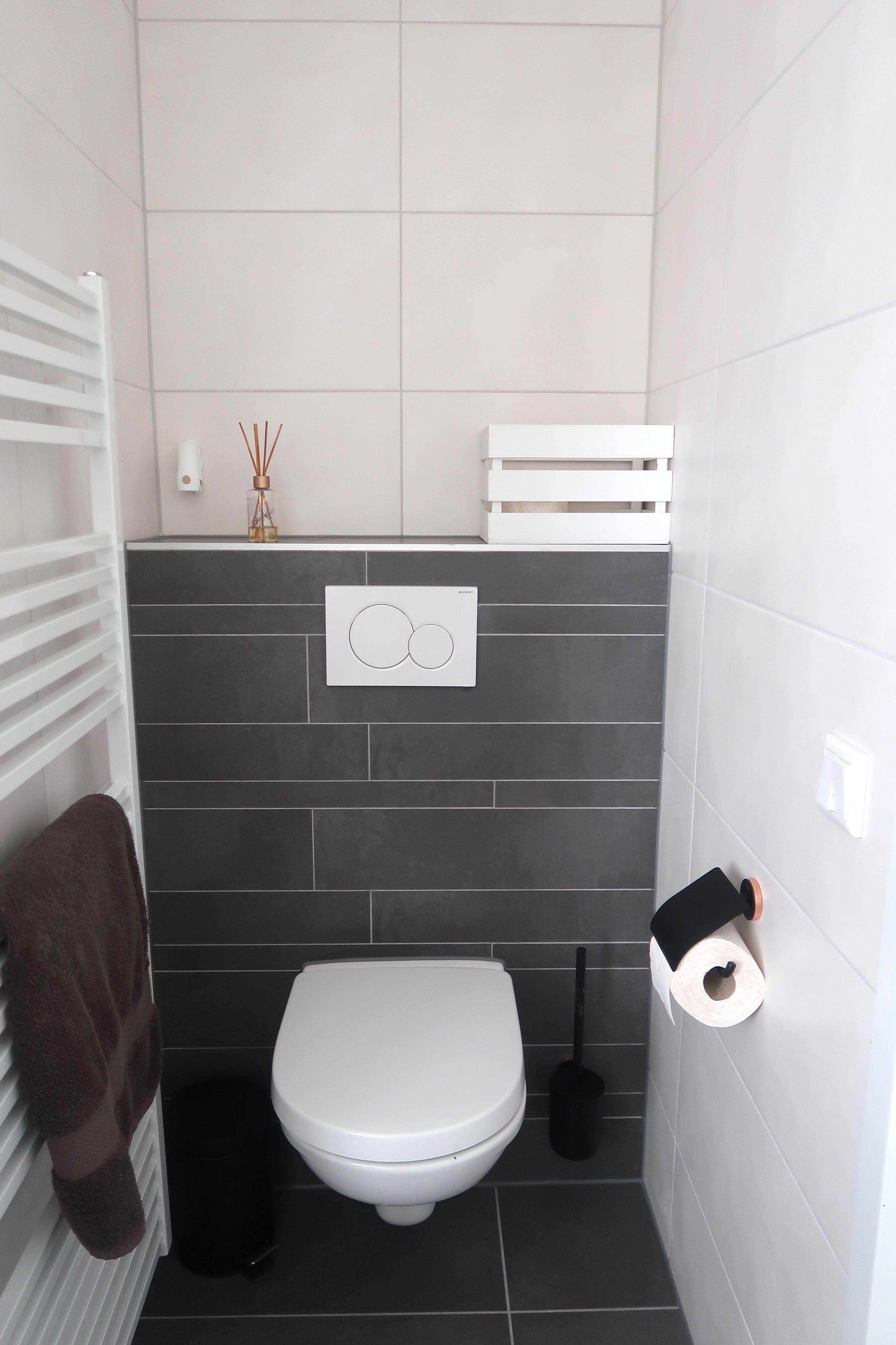 Onze nieuwe badkamer toilet