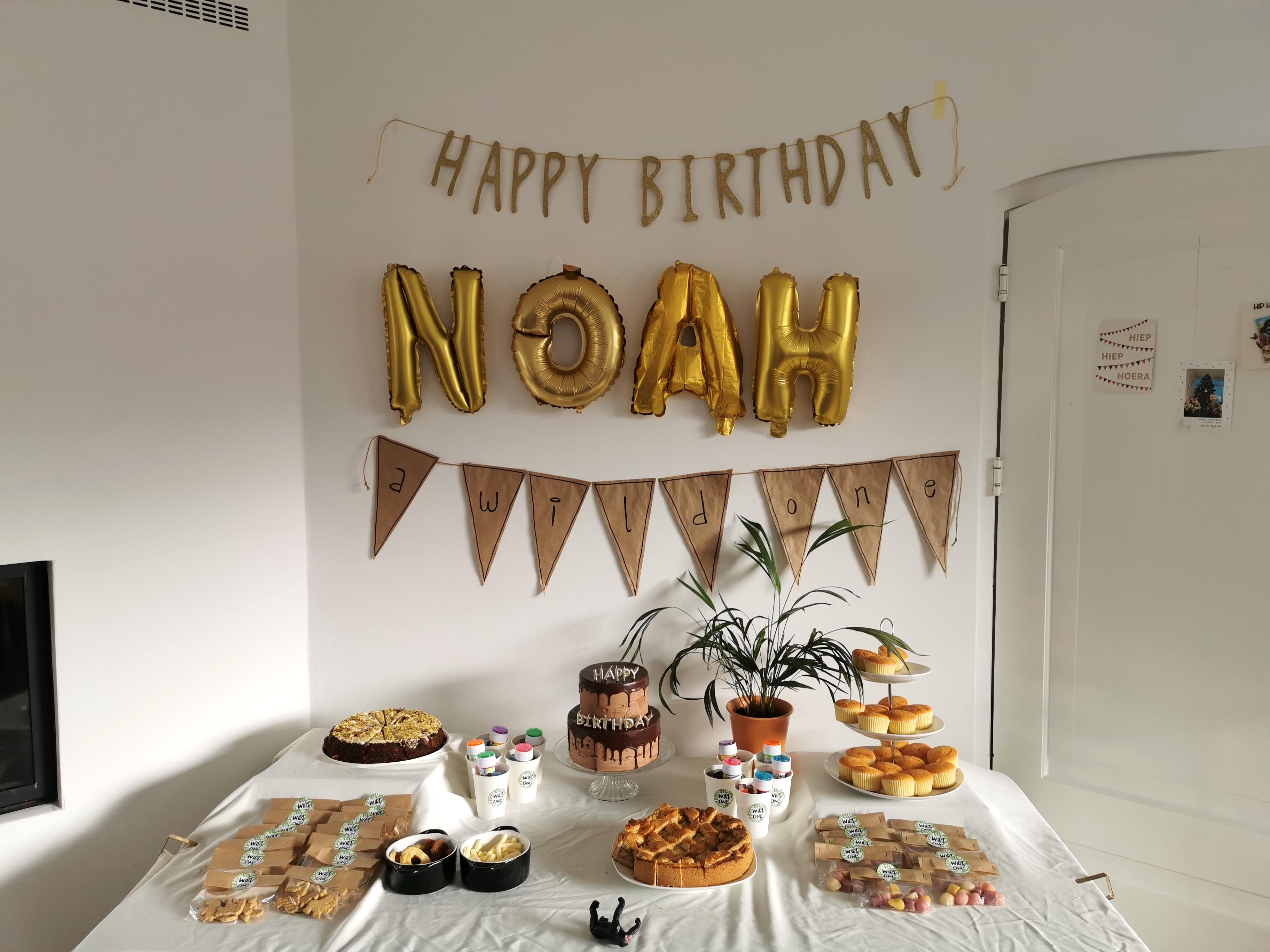 Laura's Life verjaardag Noah