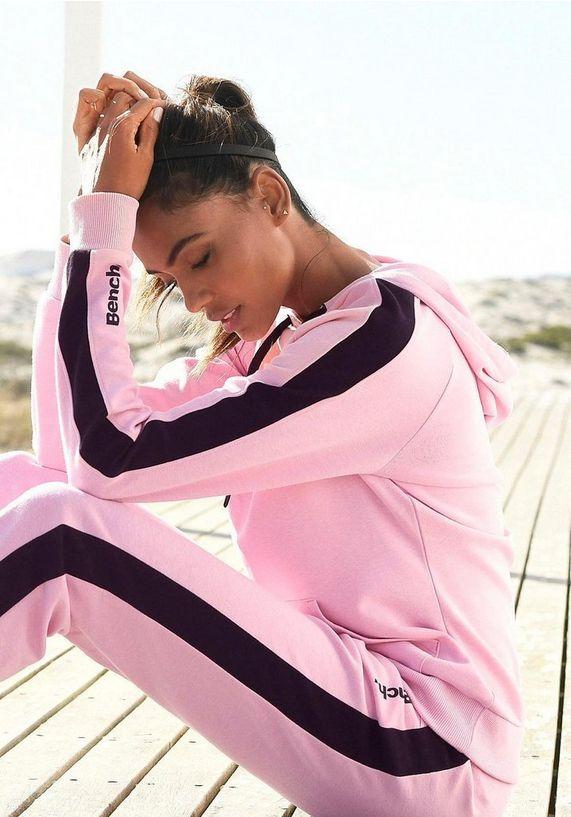 bench huispak roze loungewear