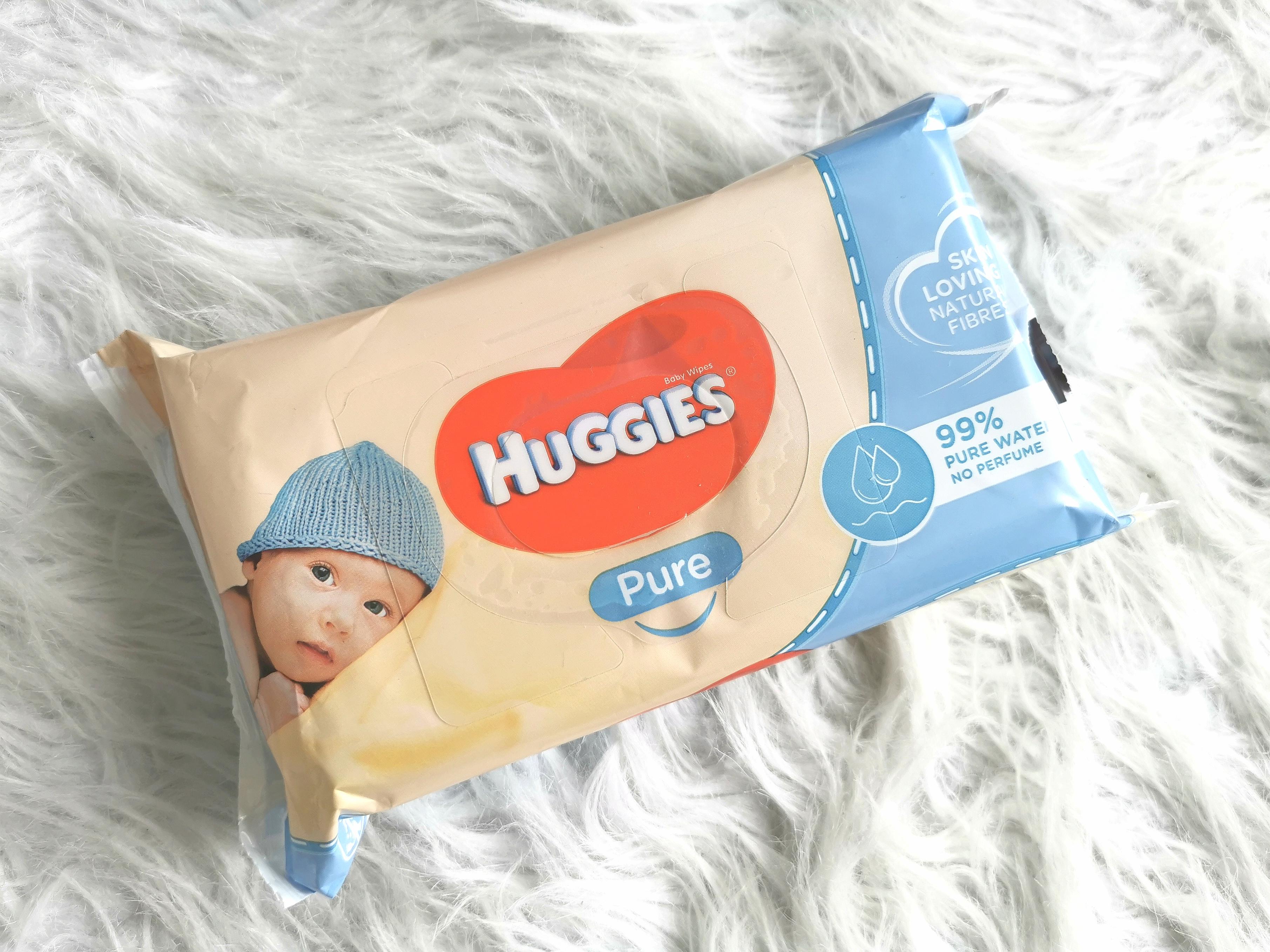 Billendoekjes test Huggies Pure