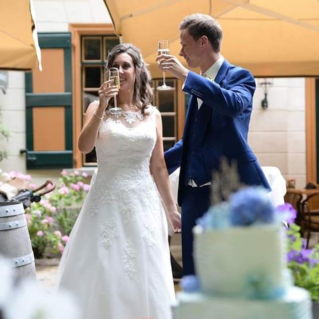 2 jaar getrouwd
