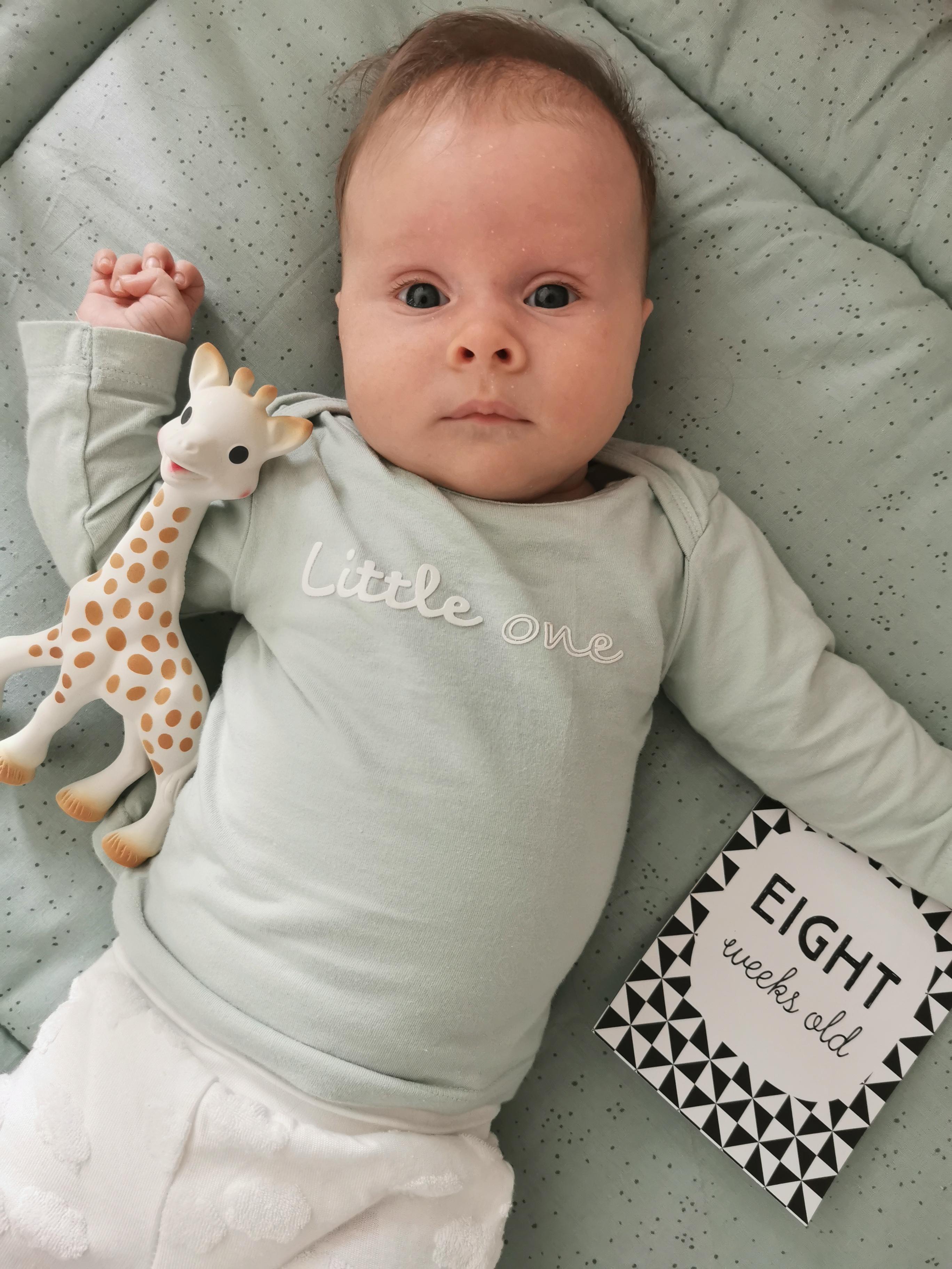 Sophie 8 weken oud